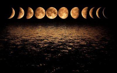 Lunární fáze na každý den v roce 2018
